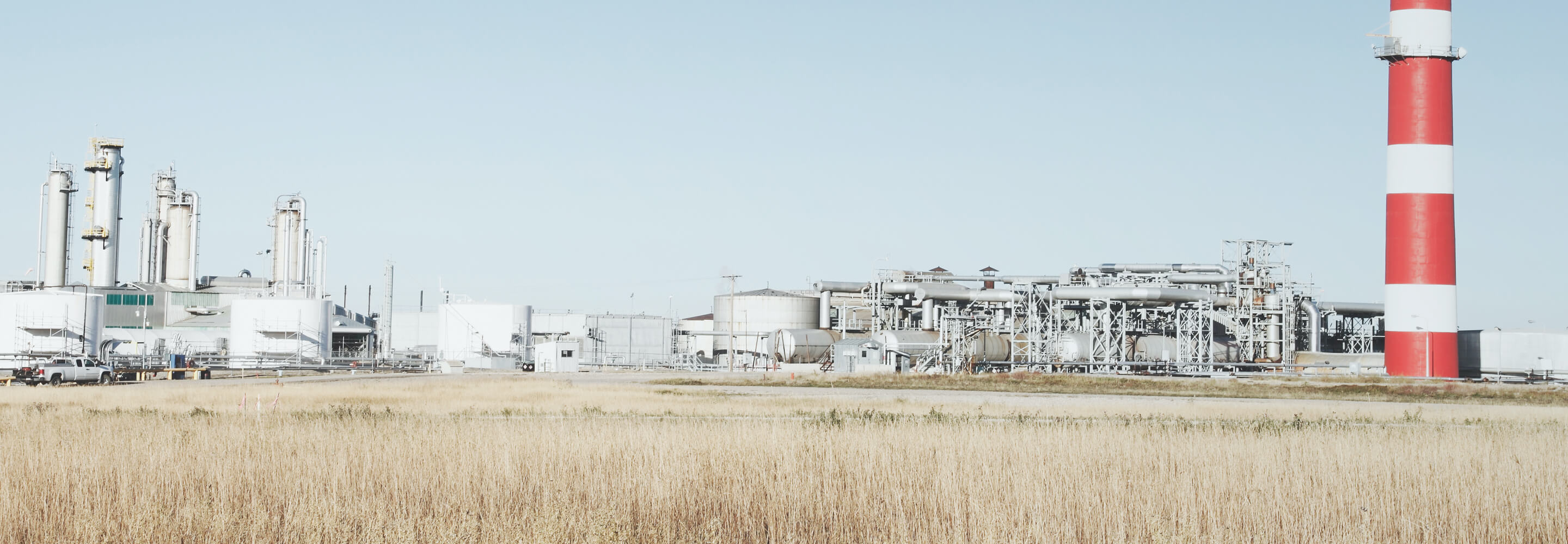 Oil-and-gas-plant-in-a-field