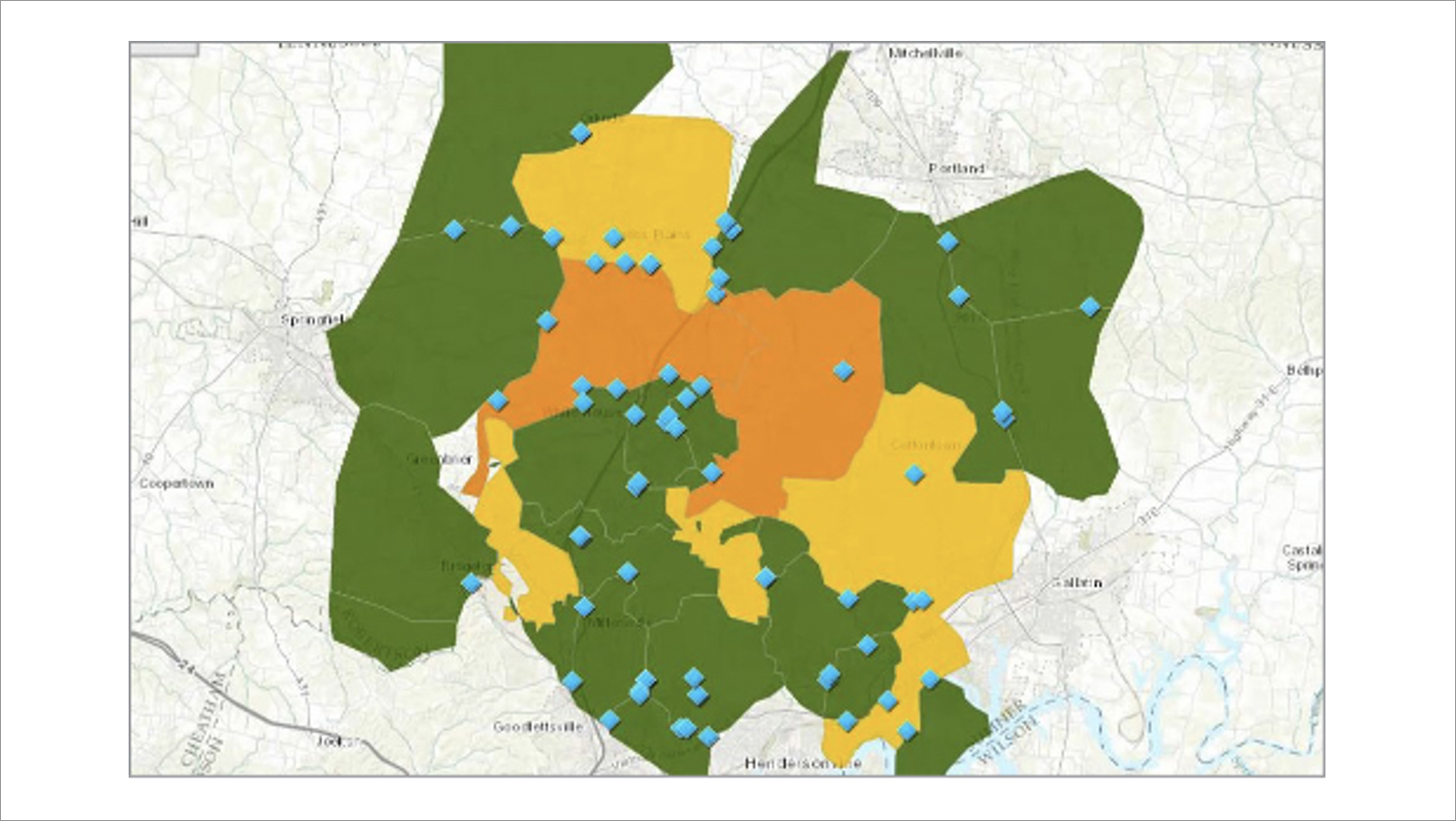 WHUD employees can evaluate the health of the water distribution system, energy consumption and the potential costs lost to leakage, quickly by combining ESRI and the PI System.