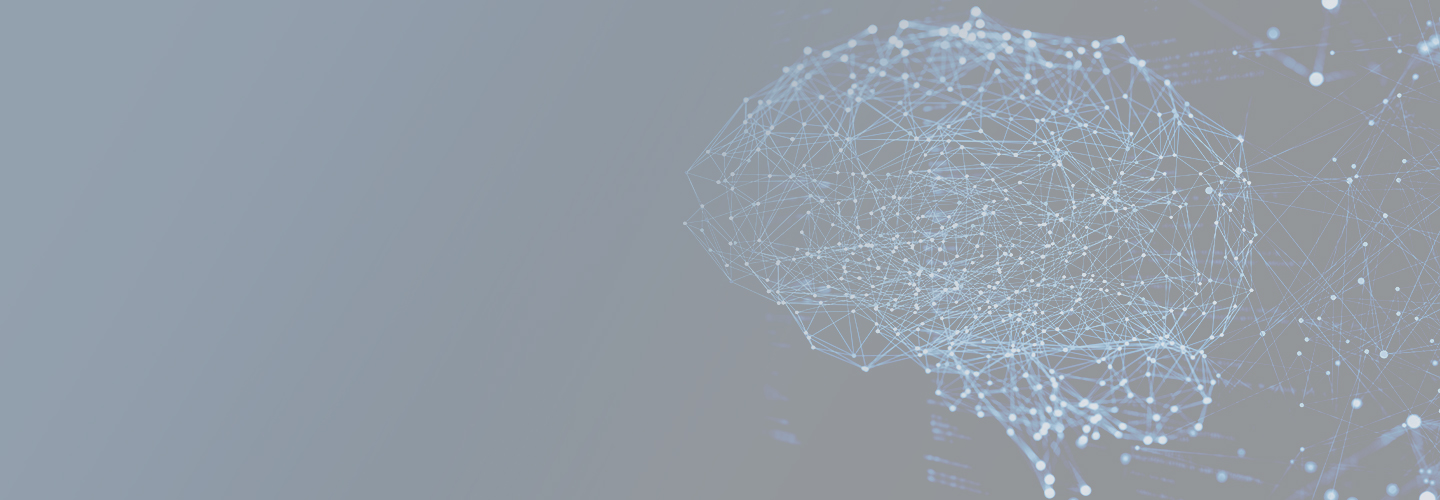 Blog header image of neural network in the brain