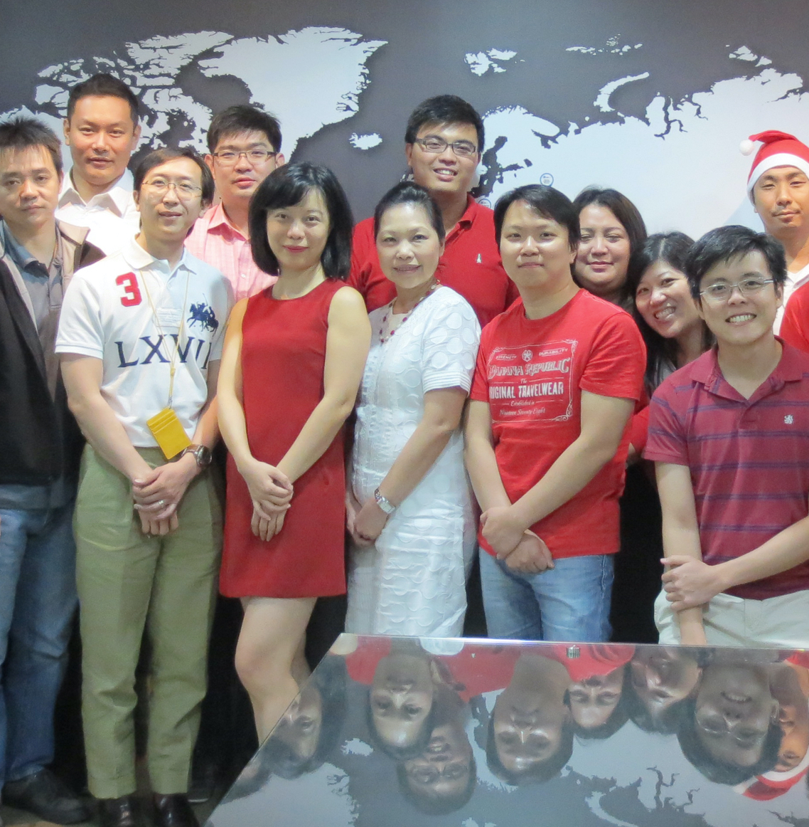 The Singapore office is one of dozens of offices supporting sales and technical support around the world.