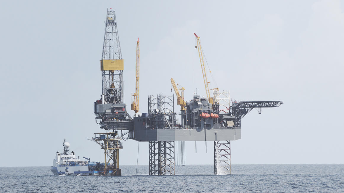 offshore platform or offshore drilling rig