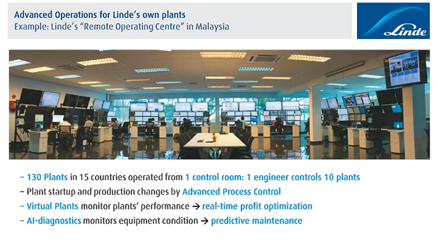 advanced operations for Linde