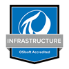 Blue PI System Infrastructure Accreditation Badge
